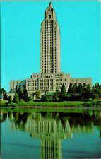 Baton Rouge LA State Capitol Building Postcard unused (13083)