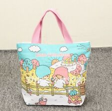 Little Twin Stars couple lover handbag tote lunch bag storage bags L156 tote NEW