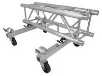 Trusst CT290DOLLYKIT Aluminum Made Straight Truss Section Transport Dolly Kit