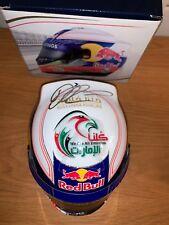 Daniel Ricciardo (Australia) signed Red Bull 1:2 Helmet + COA & Photo Proof