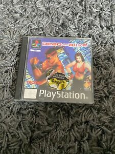 DEAD OR ALIVE Sony Playstation 1 Game PS1