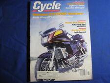 CYCLE MAGAZINE-JULY 1983-YAM XVZ1200 VENTURE-XR350R-XR500R-SUZ GS750ES-VINTAGE
