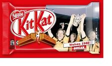Wolves FC 1980 League Cup Winners Kitkat Chocolate Bar