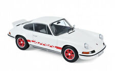 1/18 PORSCHE 911 RS 1973-BLANCHE-AVEC DÉCORATION ROUGE-NOREV187639