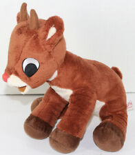 Commonwealth Toys RUDOLPH THE RED NOSED REINDEER Stuffed Plush CHRISTMAS TOY