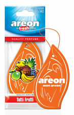 10pcs Areon Car Air Freshener Tutti Frutti