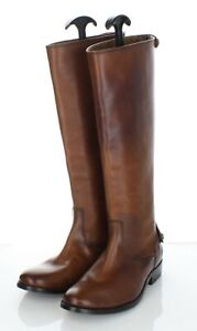 06-56 NEW $388 Women's Sz 5.5 B Frye Melissa Button Back Zip Leather Boot