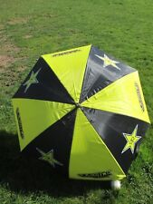 New Rockstar Energy yellow motocross enduro golf umbrella ROC001