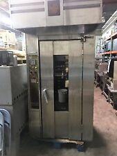 Bakers Aid Baro-1G /208 V Slim Line Single Door Natural Gas Rotating Rack Oven