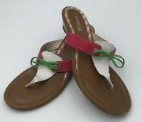 Sperry Womans Size 9M Thong Style Flip Flops