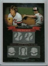 2010 Topps Sterling Jim Palmer Five Relic Jersey #'ed 15/25