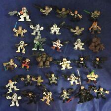 Star Wars Galactic Heroes Hasbro Action Figure 33 Pc Lot Han Chewie Luke