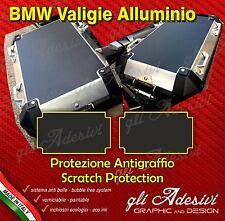 2 Pellicole protettive nera Valigie Laterali BMW R 1200 F 800 ANTIGRAFFIO