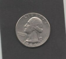 Moneta Stati Uniti United States Quarter Dollar 25 Cent 1984 D Washington STU199