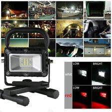 COB LED Work Light Rechargeable Inspection Flashlight Flood Lamp stand BLACK US