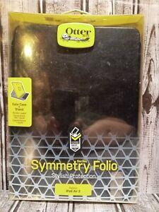 OtterBox SYMMETRY SERIES Folio Case for Apple iPad Air 2 - Black. (M)