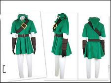 The Legend of Zelda Twilight Princess LINK Costume Cosplay