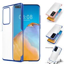 For Huawei P40 Pro Lite Nova 6 SE Hard Clear Phone Case Shockproof Slim Cover