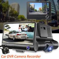 4'' Dual Lens G-sensor HD 1080P Car DVR Dash Cam Video Recorder Rearview Camera