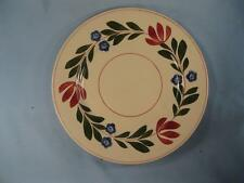 Alcazar Adams Bread & Butter Plate Titian Ware England Red & Blue Flowers (O)