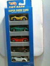 1995 Hot Wheels 5 Pack Super Show Cars (Viper, Jaguar) - Set