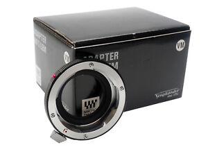 Voigtlander VM to Micro Four Thirds Lens Adaptor
