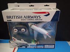 British Airways Boeing remote Airplane Plane chilrens collectible rare