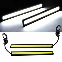 New Lamp LED COB Fog Super 12V Bright for Driving Lights DRL Car White 2x Nice
