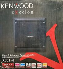 KENWOOD X301-4 CLASS D 4 CHANNEL AMPLIFIER