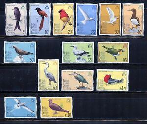 BRITISH HONDURAS BIRDS SCOTT#167/78 MINT NEVER HINGED