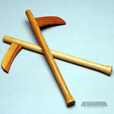 Wood Bladed Kama Wooden Training Kamas - Pair