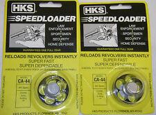 2 Pack HKS CA-44 Speed Loader Charter Arms Bulldog 44 SPL