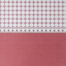 Dolls House Wallpaper - Teapot Tiles Terracotta NB262