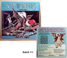 Disney Warner Escape from the Gremlins Record Storybook
