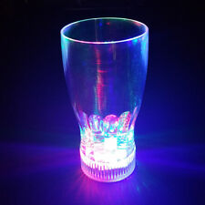 NEW! LED LIGHT BLINKING 20oz SODA GLASS - COLOR CHANGING/FLASHING DRINKING CUP