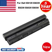 Battery for Dell Latitude E6320 E6230 E6120 E6220 E6330 E6430S RFJMW 09K6P Fast