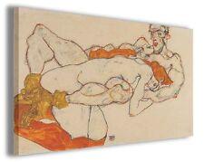 Quadro moderno Egon Schiele vol XXIX stampa su tela canvas pittori famosi