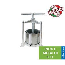 Clap Trade Torchietto Premitutto Manuale In Alluminio 3.5L - Argento
