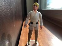 Luke Skywalker Farmboy Blonde Vintage Kenner Star Wars Taiwan COO Short Pour EX!