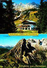 Arthurhaus am Hochkönig , Matrashaus , Ansichtskarte , 1984 gelaufen