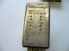 POTTER & BRUMFIELD RELAY ABCIIAY 120V 50-60Hz 10A USED, TESTED 1 PC