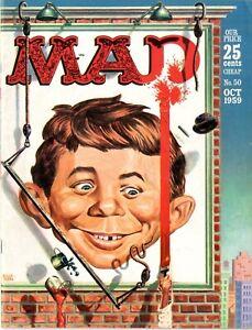 Mad   #50   FINE   October 1959   EC   See photos