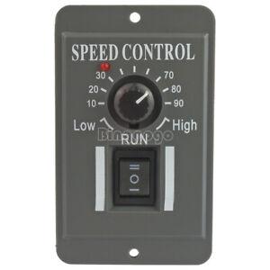 PWM 12V 24V 36V 48V DC Motor Speed Controller Reversible Switch 6A Regulator D