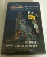 NEW RIVIERA Casino Las Vegas Vintage Deck of Playing Cards SEALED Free Shipping
