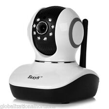 EasyN 1.0MP Wireless WiFi IP Camera Pan/Tilt Night Vision IR-CUT Security Webcam