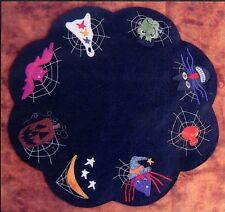 Halloween Table Mat Primitive Gatherings Wool Quilt Pattern