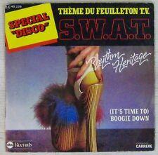 SWAT 45 tours  Rythm Heritage 1976