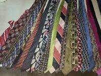 Lot 21 Neckties Job Suit Wear Quilting Craft Neck Tie Lots