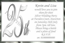 Unbranded Personalised Anniversary Hand-Made Cards