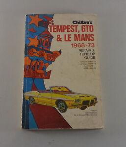 Manual de Reparación Pontiac Tempest, Gto + Le Mans Año 1968-73